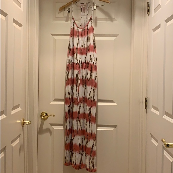Loveappella Dresses & Skirts - Loveapella Tie-Dye Maxi Dress